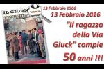 """GRECO – 50 ANNI DI """"RAGAZZO DELLA VIA GLUCK"""""""